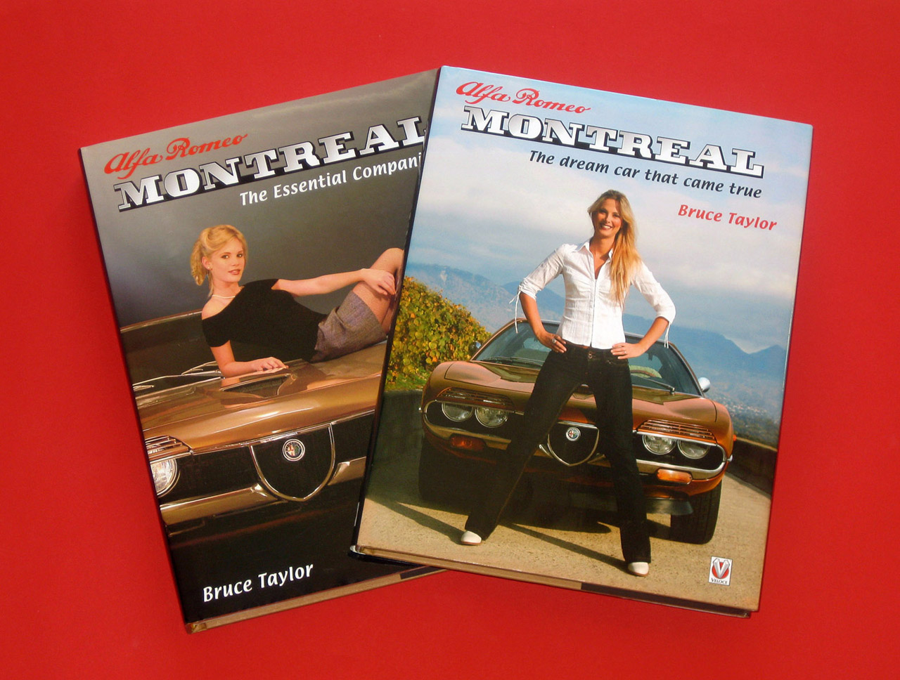 [Two Alfa Romeo Montreal books]